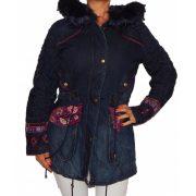 Desigual női bélelt farmer kabát Chaq Natasha