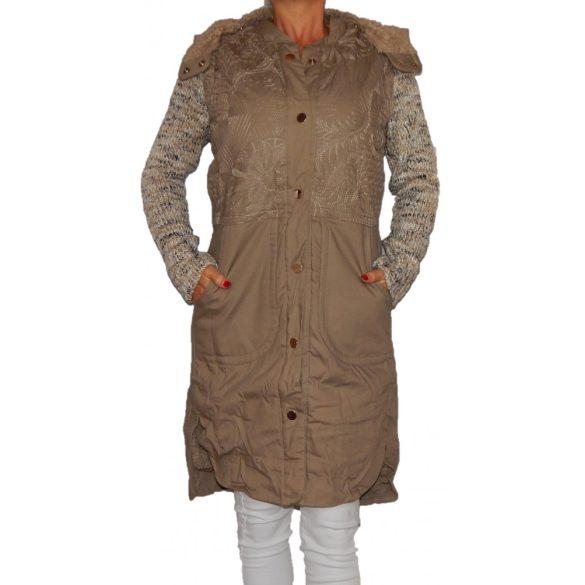 Desigual homokszínű női télikabát Abrig Rosa