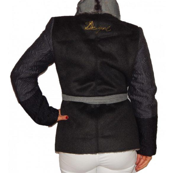 Desigual szürke női műirha kabát Chaq Bibianne