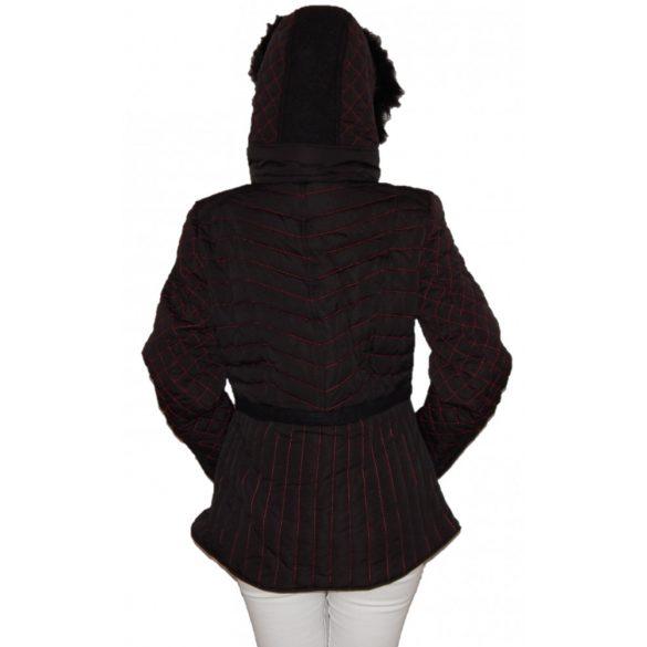 Desigual fekete rövid női télikabát Abrig Nero