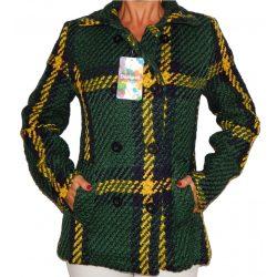Desigual zöld női kötött kabát Abrig Julieta