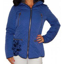 Desigual kék rövid női télikabát Abrig Fran