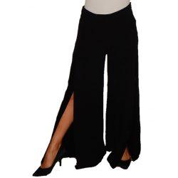 Desigual fekete elegáns trapéz nadrág Pant Ade