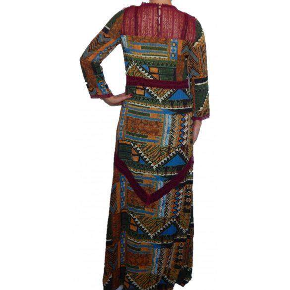Desigual 3/4 ujjú maxi ruha Vest Naiara