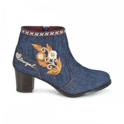 Desigual női farmer bakancs Shoes Cris Exotic Denim