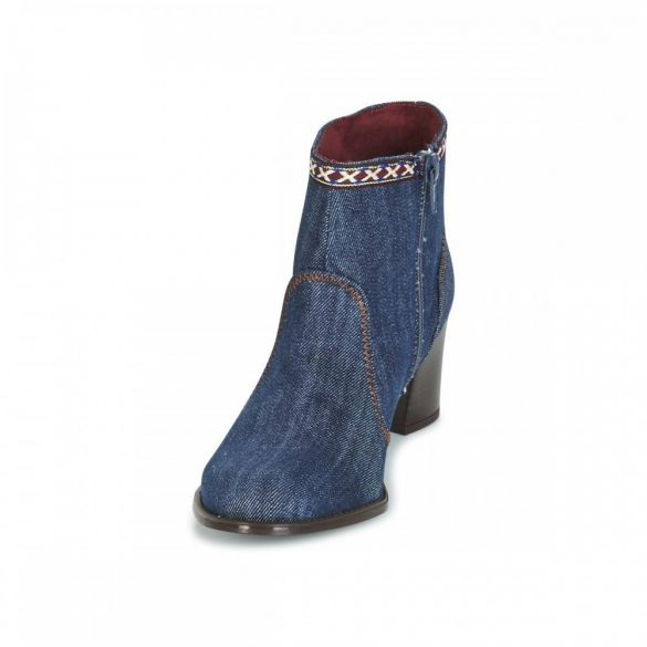 Desigual női farmer bakancs Shoes Cris Exotic Denim