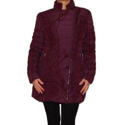 Desigual sötét lila női téli kabát Abrig Osamim