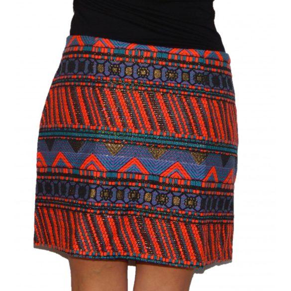 Desigual absztrakt mintás női mini szoknya Fal Granada