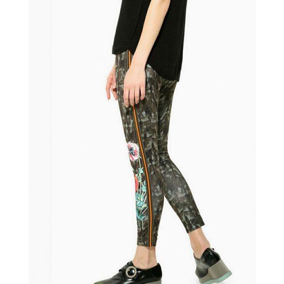 Desigual terepmintás női legging Ayrton