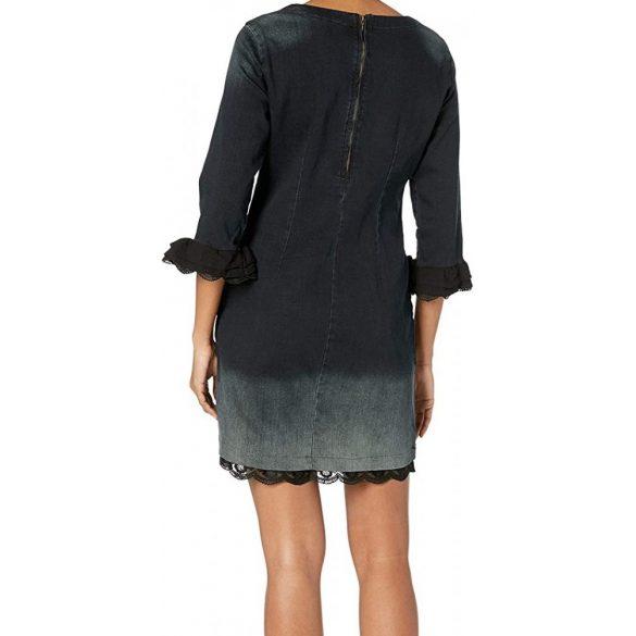 Desigual szürke női farmer ruha Vest Agnés