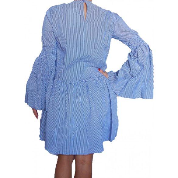 Desigual fehér kék csíkos női ruha Vest Blue2