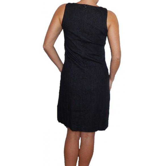 Desigual sötétszürke ujjatlan női farmer ruha Vest Xenia