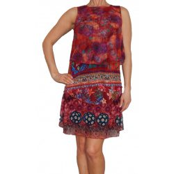 Desigual ruha virágos színes Vest Fina