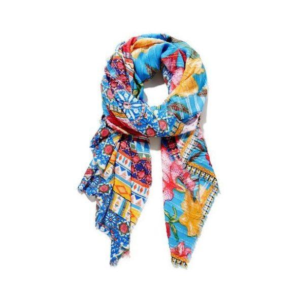 Desigual színes sál vagy strandkendő foulard Aria Rectangle