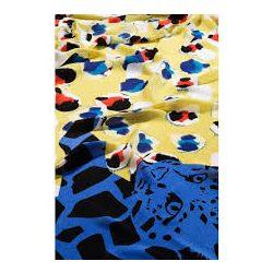 Desigual arany kék párducos női strandkendő vagy sál