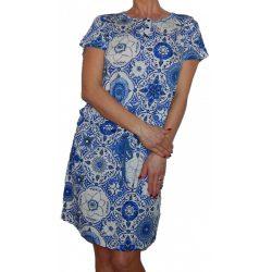 Desigual kék fehér rövidujjú kényelmes hálóruha