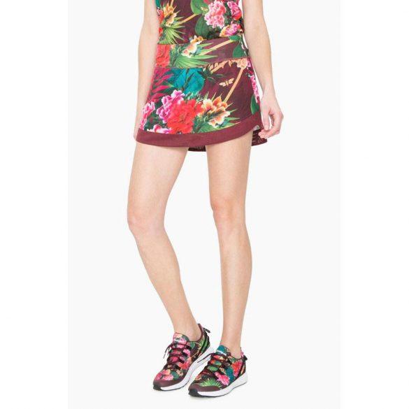 Desigual sport szoknya trópusi virágos Skirt Tropic
