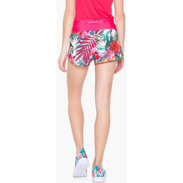 Desigual pink virágos futó nadrág Short Narcissus