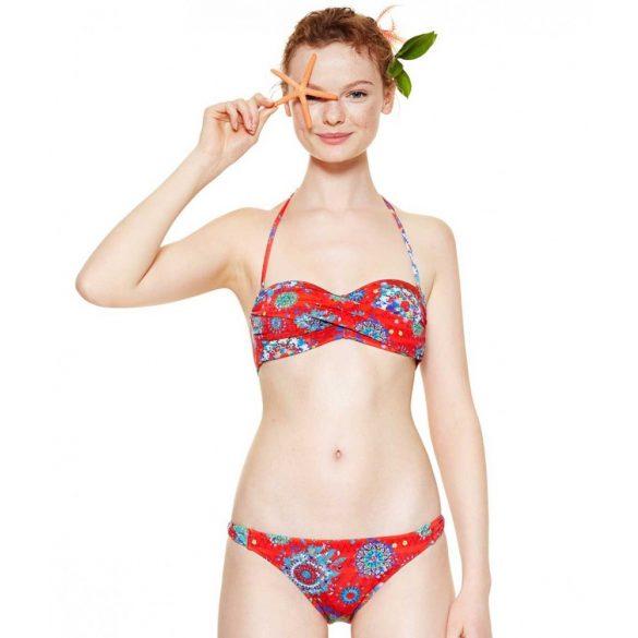 Desigual bikini felső piros Biki Odessa Ukraine (S)