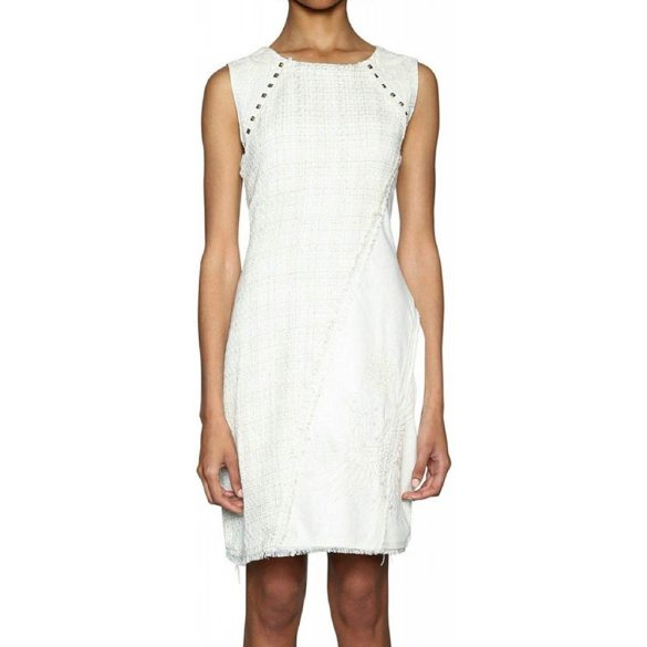 Desigual krémfehér női ujjatlan ruha Vest Amparo(34)