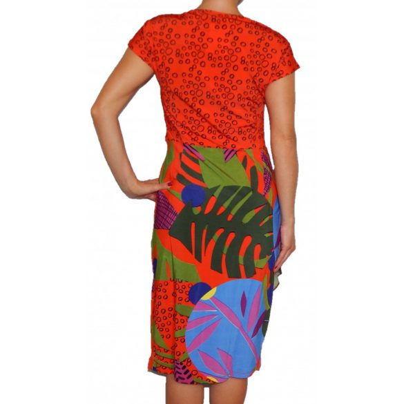 Desigual ruha színes rövidujjú Vest Stencil(M,L)