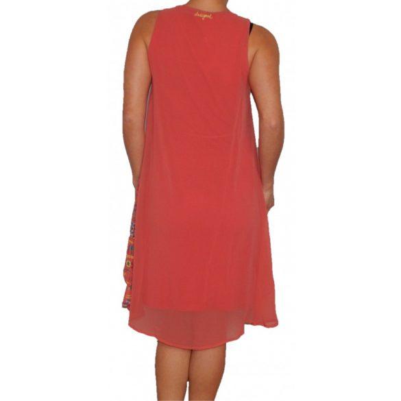 Desigual ruha virágos koral ujjatlan Vest Poppy