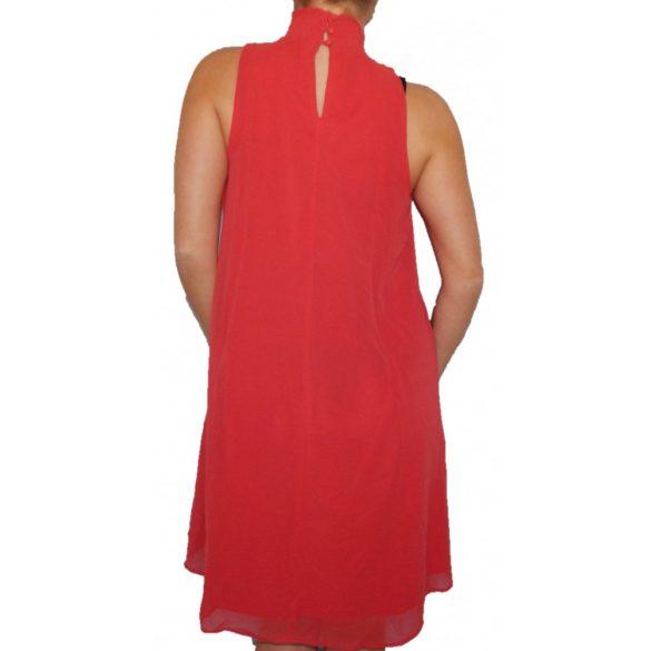 Desigual piros női ujjatlan lenge ruha Vest Angy