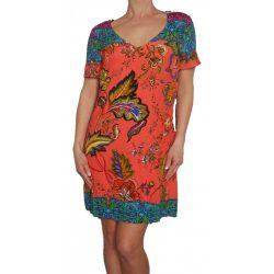 Desigual színes virágos női tavaszi ruha Vest wonderfull
