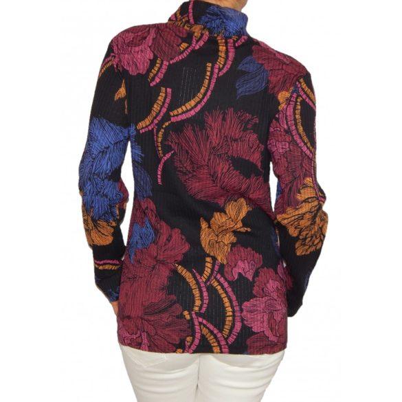 Desigual színes mintás női pamut garbó Ts Agatha (XXL)