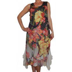 Desigual virágos ruha Vest Adriana (L)