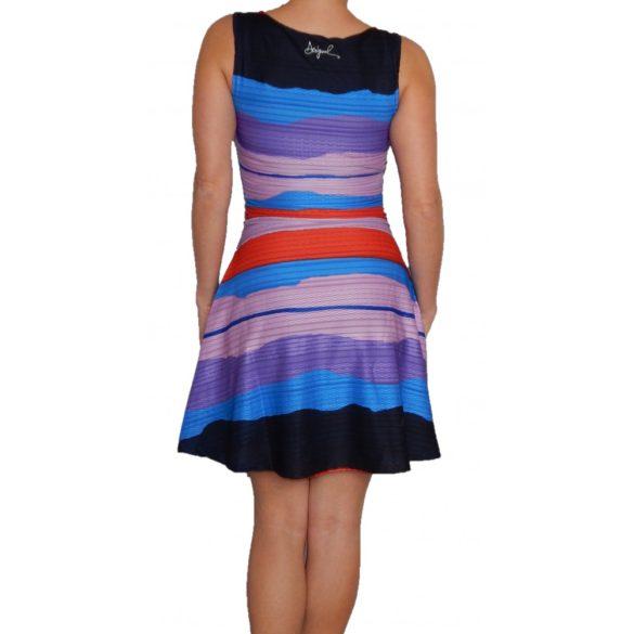 Desigual ruha ujjatlan színes csíkos Vest Violeta