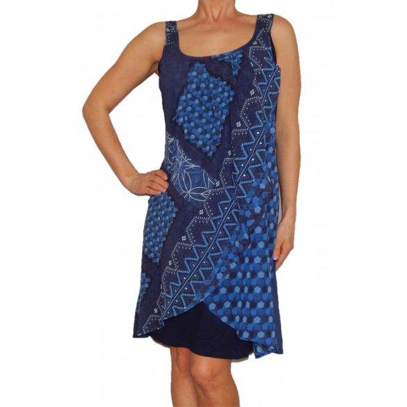 Desigual ruha kék lenge ujjatlan Vest Amaia