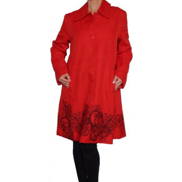 Desigual kabát piros átmeneti Abrig Gaia