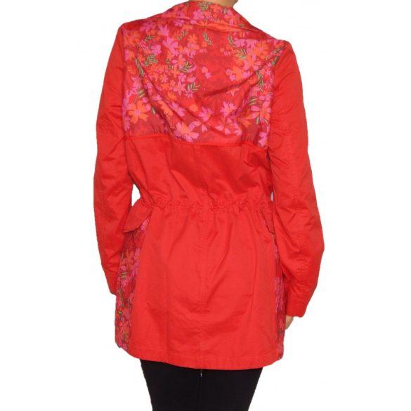 Desigual piros átmeneti kabát Chaq Delphine
