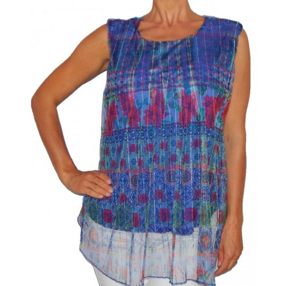 Desigual felső ujjatlan kék ts Lorelay(XL)