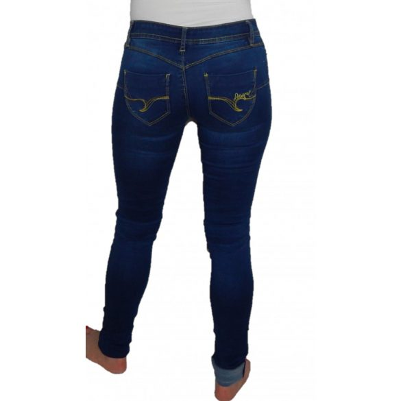 Desigual kék sztreccs farmer Denim Second Skin