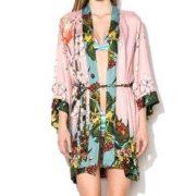 Desigual selyem kimono Abrig Mireia