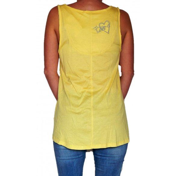 Desigual sárga felső Ts Astrid (L,XL)