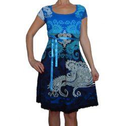 Desigual kék női ruha Vest Liz Rep