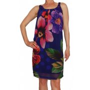 Desigual női lila ruha Vest Flower