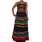 Desigual színes maxi ruha Vest doll