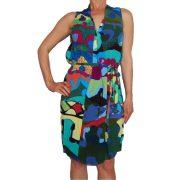 Desigual női színes ruha Vest Creta