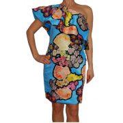 Desigual női virágos ruha Vest Kitzia