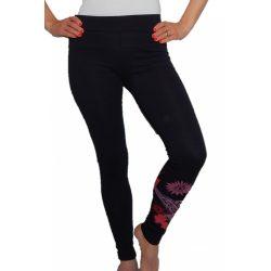 Desigual női fekete legging Fresco