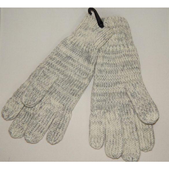Desigual női kötött szürke kesztyű Gloves Electra