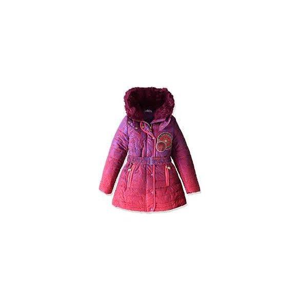 Desigual lila és rózsaszín kislány télikabát Abrigg Opunita