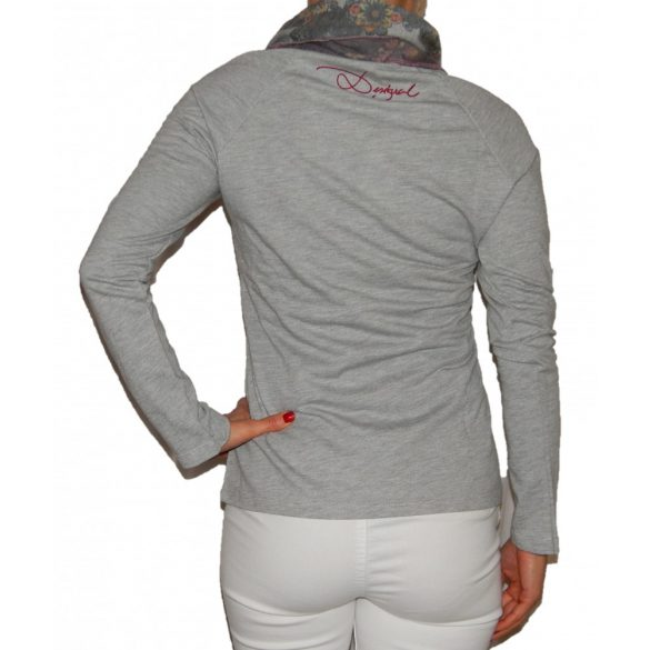 Desigual szürke pulóver Sweat Sophia