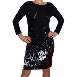 Desigual női fekete ruha Vest Castalia