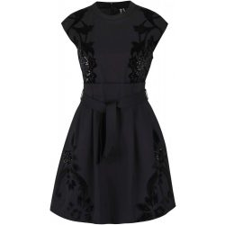 Desigual fekete alkalmi ruha Vest Serena