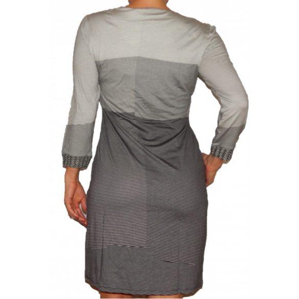 Desigual fekete fehér ruha Vest Sico